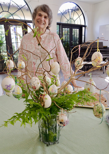floral design 25 Easter Sandy Milledge